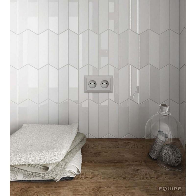CHEVRON WALL WHITE  LEFT 18.6X5.20 ΕΠΕΝΔΥΣΕΙΣ psaradellis.gr