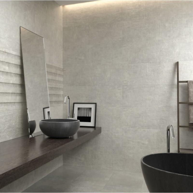 πλακακια μπανιου - πλακακια κουζινας - LEEDS GREY RECT. 30x90