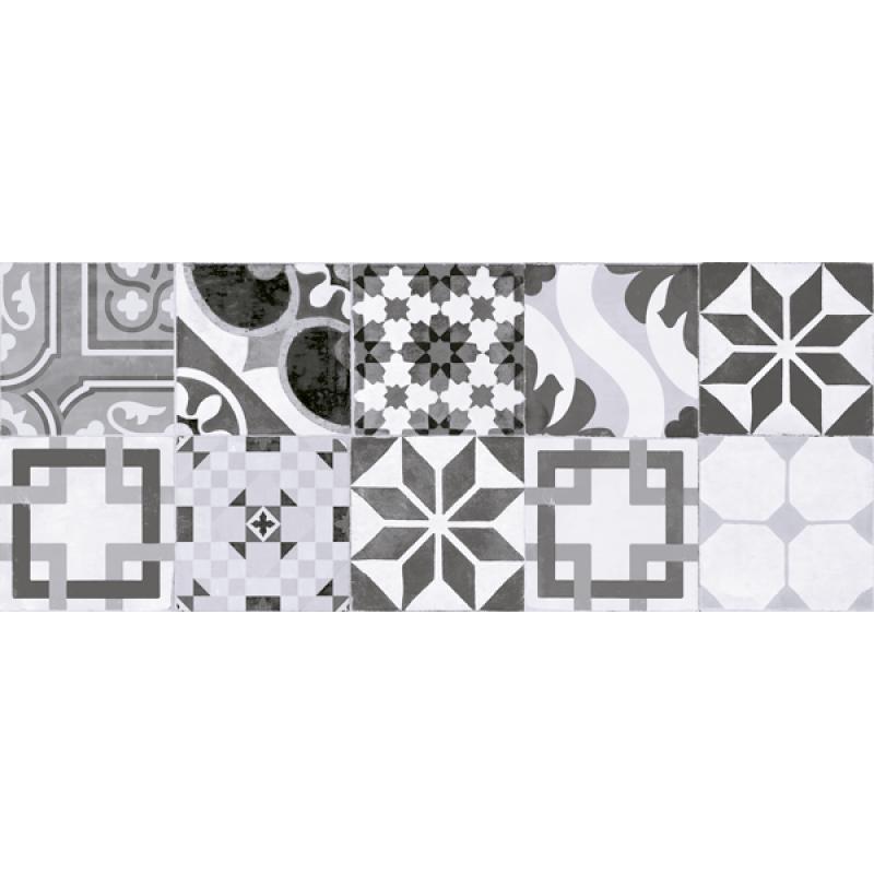 πλακακια μπανιου - πλακακια κουζινας - πλακακια patchwork - DECOR NEVADA GRIS 20x50