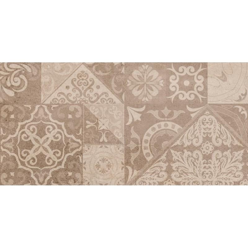 πλακακια μπανιου - πλακακια κουζινας - πλακακια patchwork - DÉCOR ROCK MARRON  25x50