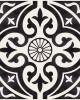 πλακακια κουζινας - πλακακια patchwork - DENONSTONE BLACK 33x33