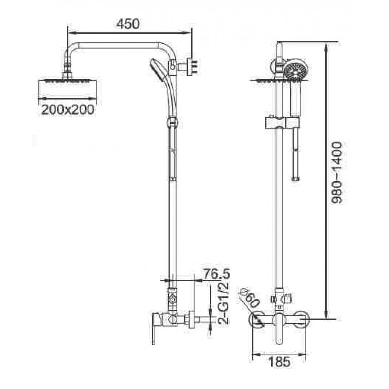 μπαταριες μπανιου - IMEX BALI BDI017