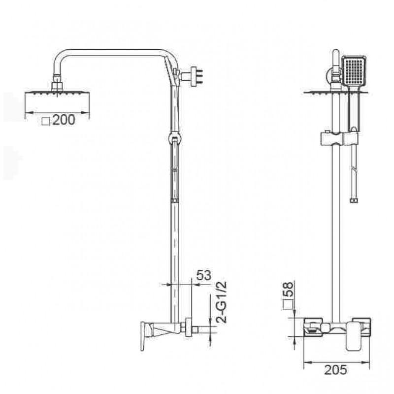 μπαταριες μπανιου - IMEX LIVERPOOL BDL007-B