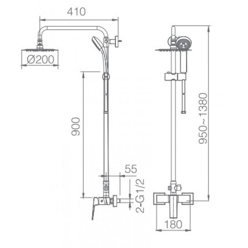 μπαταριες μπανιου - IMEX ART BDAR025