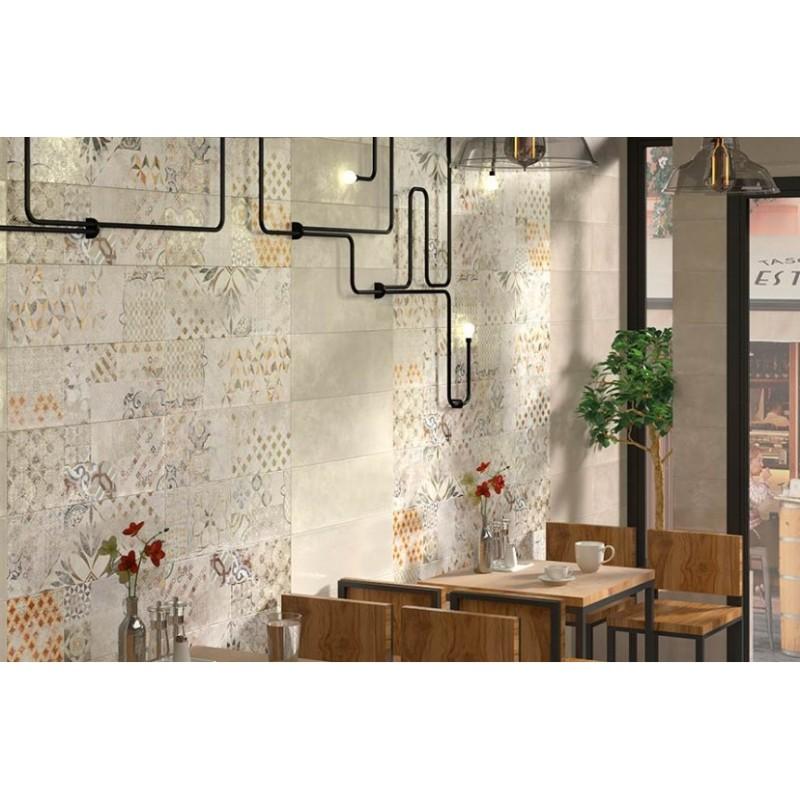 πλακακια μπανιου - πλακακια κουζινας - πλακακια patchwork - DÉCOR NUBE 20x60